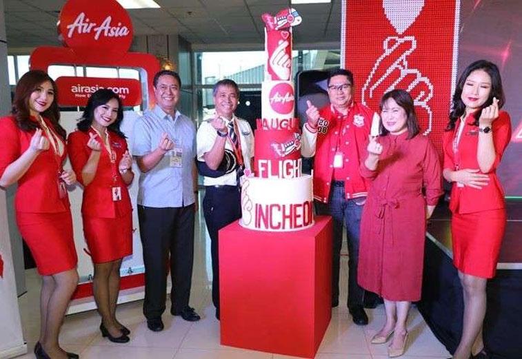 Philippines AirAsia Clark Seoul