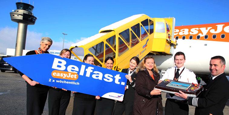 easyJet Belfast Salzburg