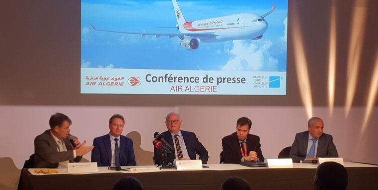 Air Algérie Brussels