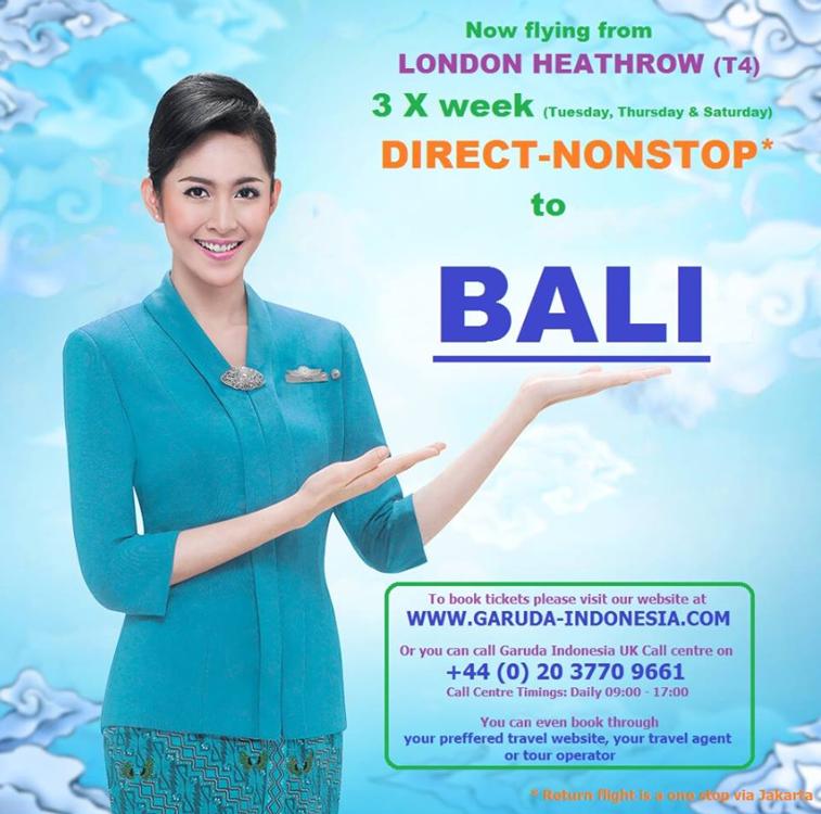 Garuda Indonesia Heathrow Bali