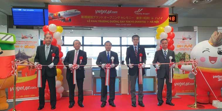 VietJet Air, Tokyo Narita