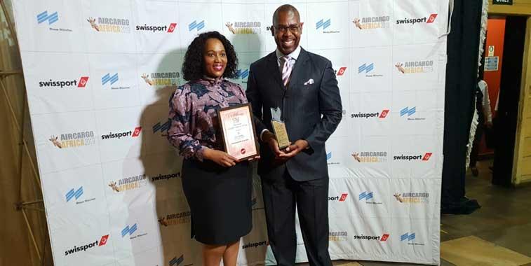 Johannesburg Airport cargo award