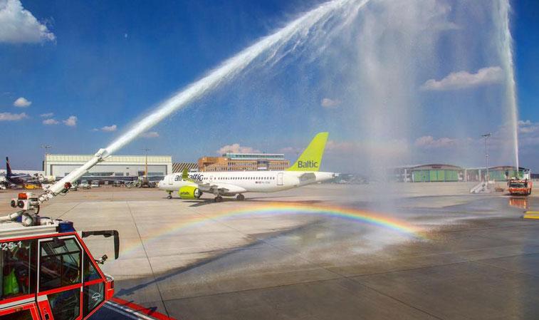 airBaltic Stuttgart