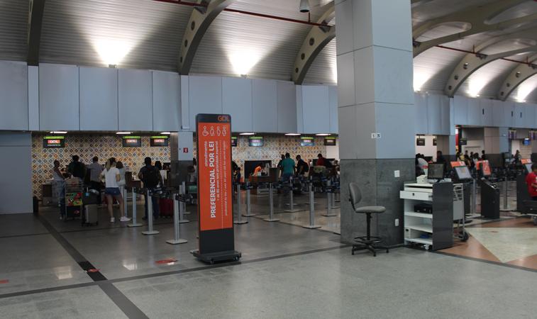 Check-in Salvador Bahia Airport