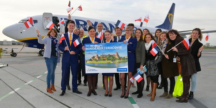 Ryanair Bordeaux
