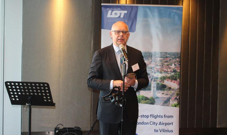 LOT Polish Airlines London City