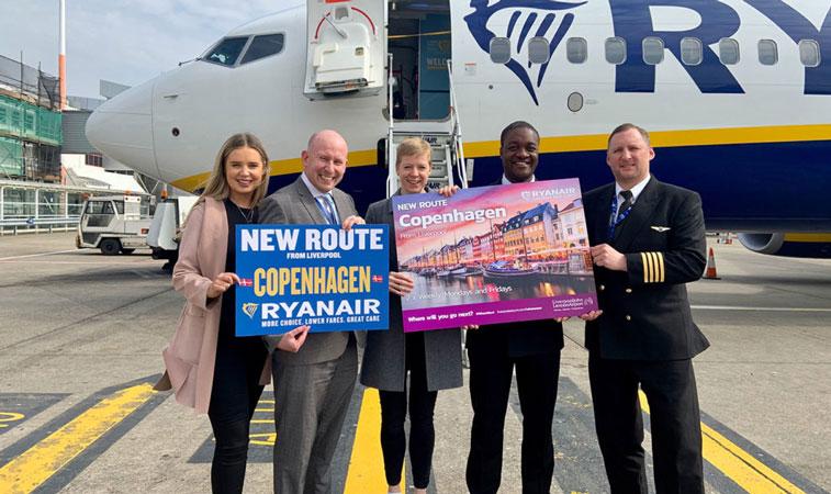 Ryanair Liverpool