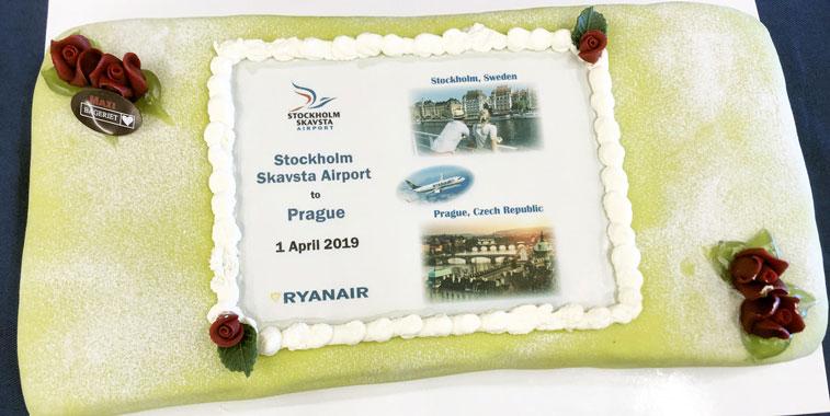 Ryanair Prague Stockholm