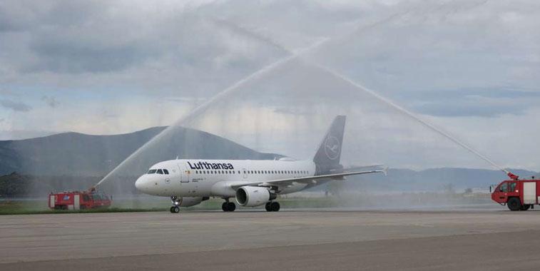 Lufthansa Tivat
