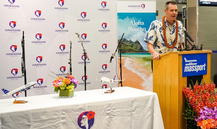 Hawaiian Airlines Boston