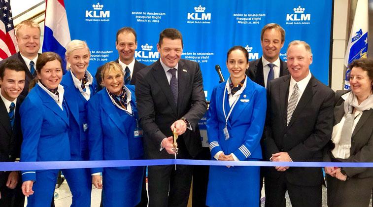 KLM Boston