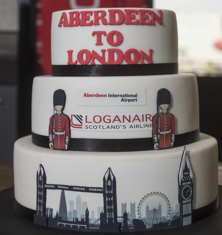 Aberdeen Airport cake
