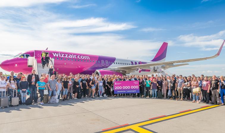Wizz Air 200 million passengers