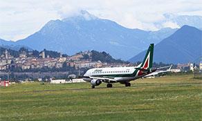 Alitalia 'Romes' back to Milan Bergamo