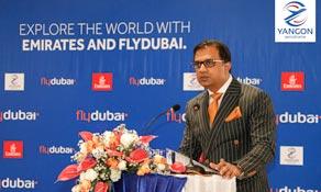 flydubai connects Yangon with Dubai; replaces Emirates