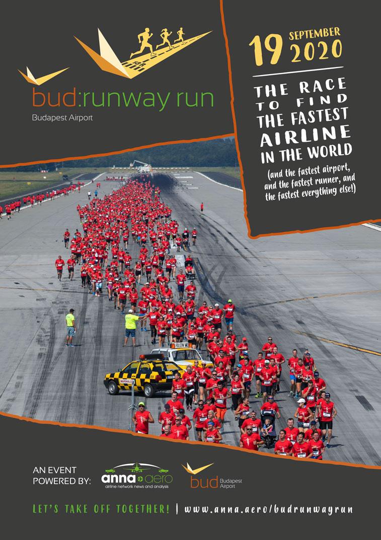 Budapest Airport and anna.aero Runway Run 2020