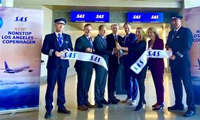 SAS returns to Los Angeles from Copenhagen