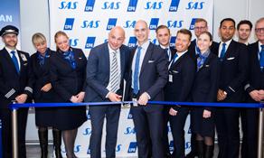 SAS starts A350 operations