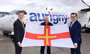 Aurigny adds Birmingham flights from Guernsey