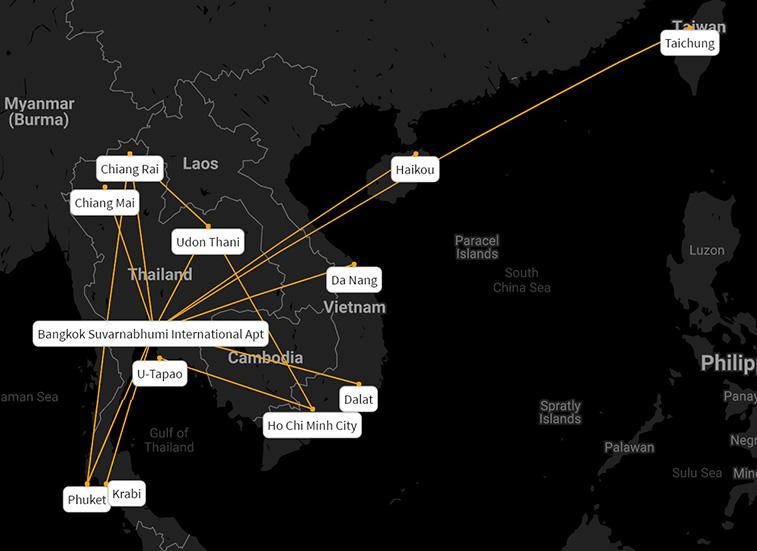 Thai VietJet to begin new Bangkok – Haikou in October