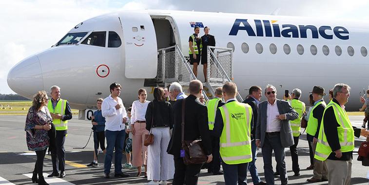 Alliance Airlines to start Cairns – Sunshine Coast; Sunshine Coast opened new runway last week