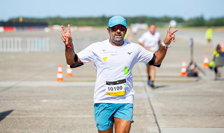 The eighth BUD - anna.aero Runway Run raises nearly €20,000 for charity