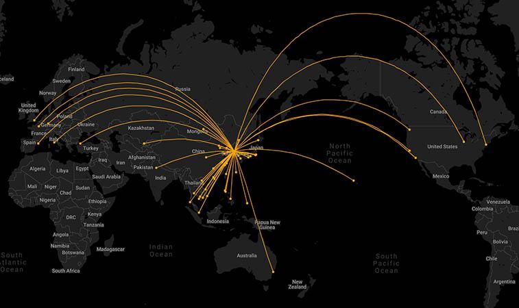 Korean Air bids to buy Asiana – 70% of Asiana's route network overlaps (2)