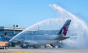 Qatar Airways started Berlin Brandenburg on 1 November