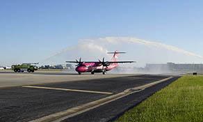 Silver Airways begins Tampa to Charleston
