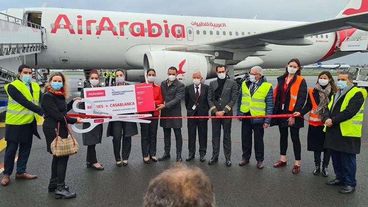 Air Arabia Maroc launches Rennes from Casablanca