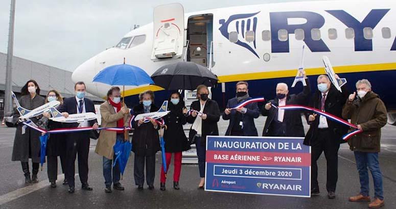 Ryanair opens Beauvais base – its 16th most profitable airport, RDC's Apex platform shows