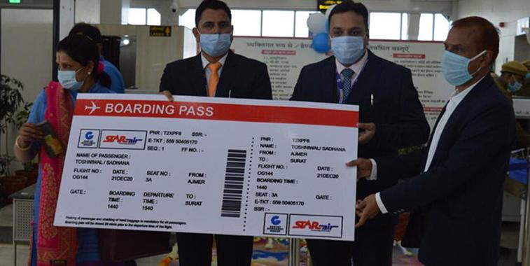 Star Air starts Belgaum to Surat and Ajmer (2)