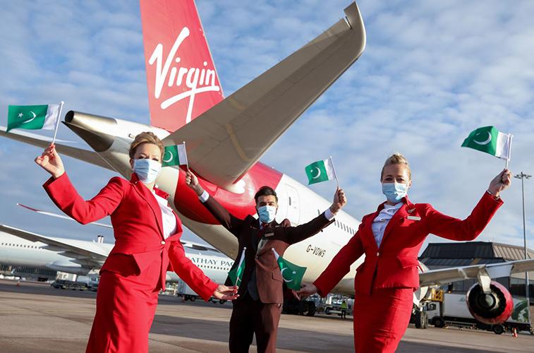 Virgin Atlantic inaugurates Islamabad from Manchester