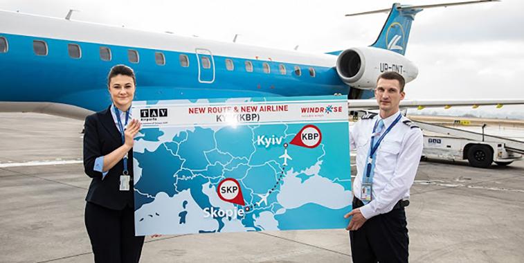 Windrose begins Skopje from Kyiv Boryspil, a historic milestone (2)