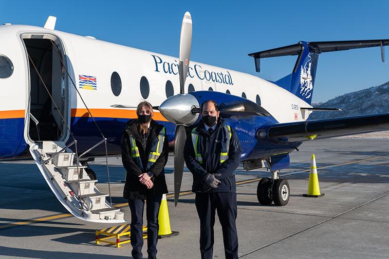 Pacific Coastal inaugurates Vancouver to Kamloops