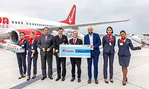 Düsseldorf Airport celebrates Corendon Airlines base opening