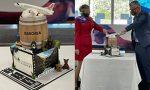 Launceston Airport celebrates Virgin Australia launch to Adelaide with spectacular cake